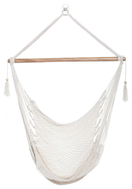 Charmant White Hammock Chair, Hanging Chair, Swing Chair, Black
