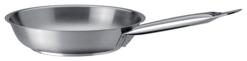 Piazza Stainless Steel Fry Pan, 9.45&x27;&x27;ch.