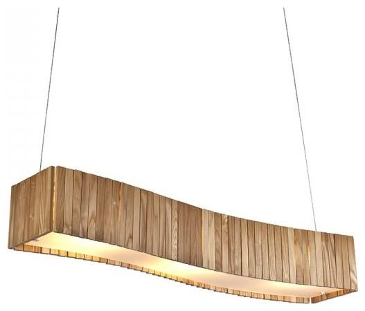Wooden Island Pendant Light