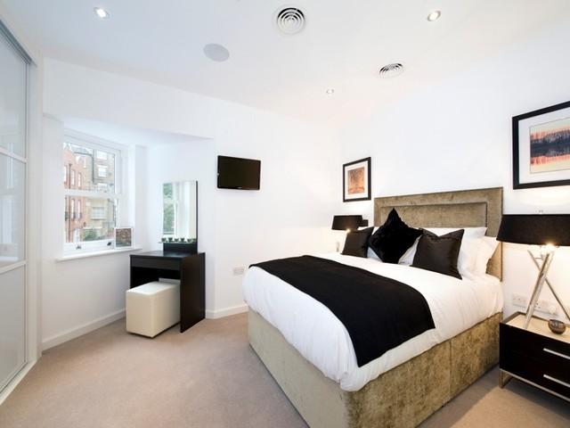 Interior design service for a bedroom portfolio sample for Interior design services london