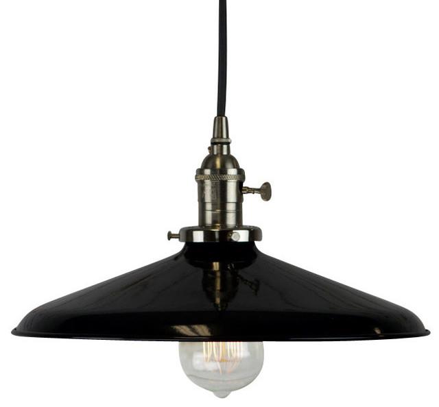 Black Vintage Style Pendant Industrial Pendant