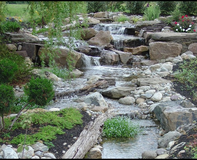 Pondless Waterfalls, Disappearing Waterfalls, Low Maintenance Landscape  Edition Eclectic Landscape