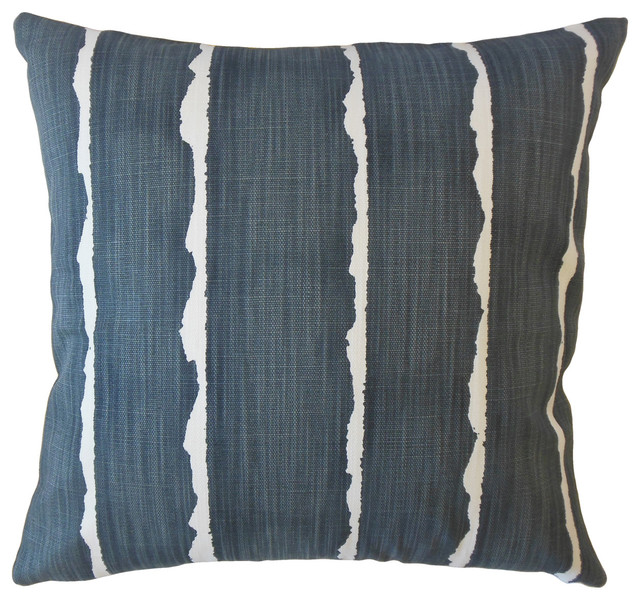 Stupendous Panya Striped Throw Pillow Carbon 12X18 Gmtry Best Dining Table And Chair Ideas Images Gmtryco