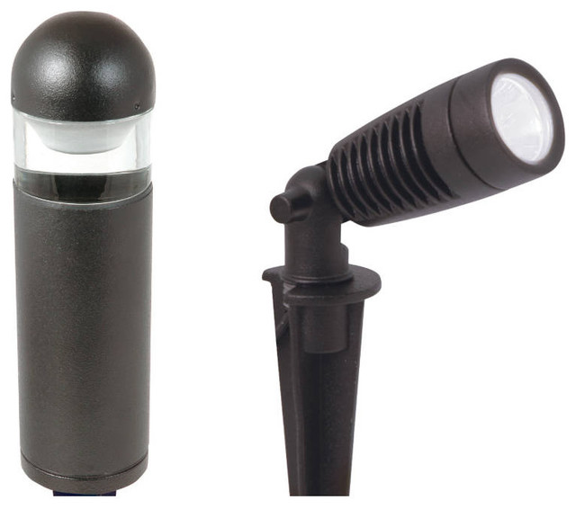Low voltage led path light kit landscape lighting by for Low voltage outdoor lighting kits