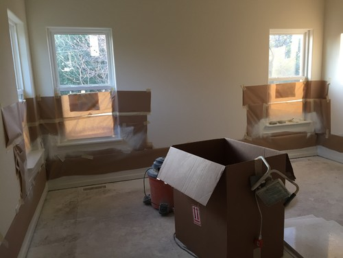 Help With Treatments For Split Windows In Master Bedroom