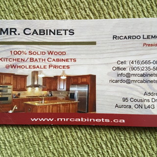 Mister Cabinets Group Inc   Aurora, ON, CA