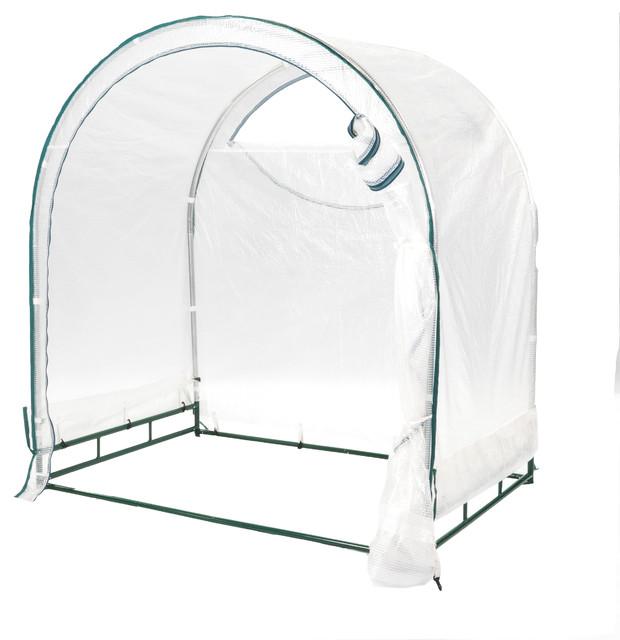 True Shelter 6&x27; X 4&x27; Portable Green House.