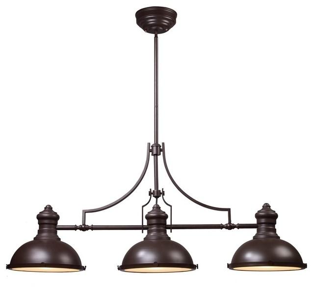 3 Light Kitchen Island Pendant Foyer Dining Room Chandelier Oil Rubbed Bronze Traditional Lighting By Lightingworld