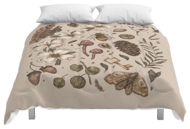 society6 nature walks comforter full 79x79