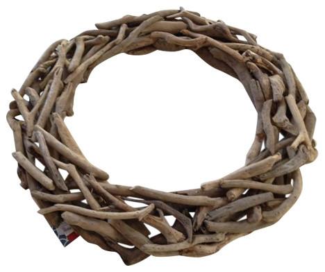 "Driftwood Wreath, 20""."