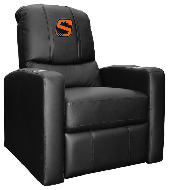 Phoenix Suns NBA Stealth Recliner With S Logo Panel by DreamSeats LLC