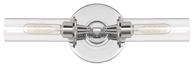 """Craftmade 38002 Modina 19.5"""" Bathroom Light - Compliant - Chrome"""