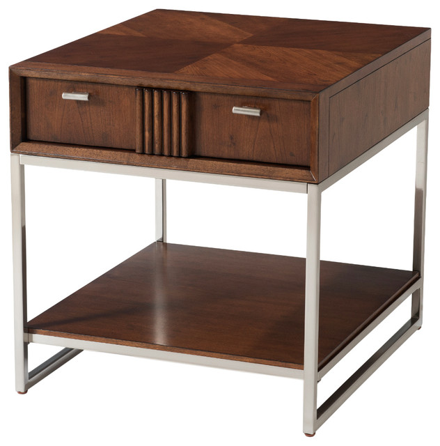 Klaussner Simply Urban Rectangular End Table amp Reviews  : contemporary side tables and end tables from www.houzz.com size 632 x 640 jpeg 73kB