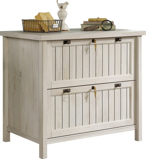 Wooden Filing Cabinet With 2 Drawer Farmhouse Cabinets By R T S Furniture Home