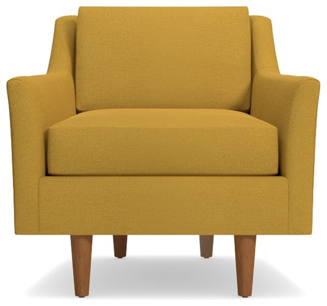 Sutton Chair, Mustard.