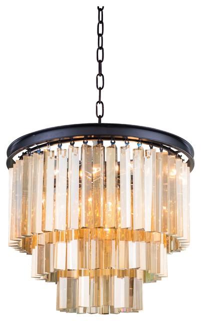 Elegant Lighting 1201D20Gtrc Pendant From The Sydney