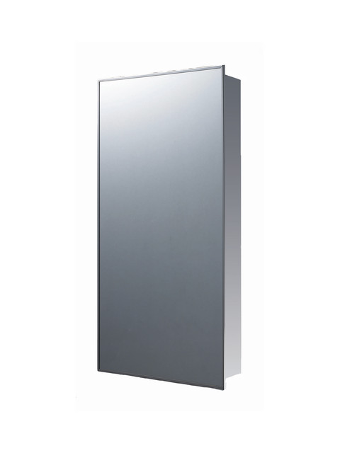 """Deluxe Stainless Steel Medicine Cabinet ,16""""x26"""", Surface Mounted"""