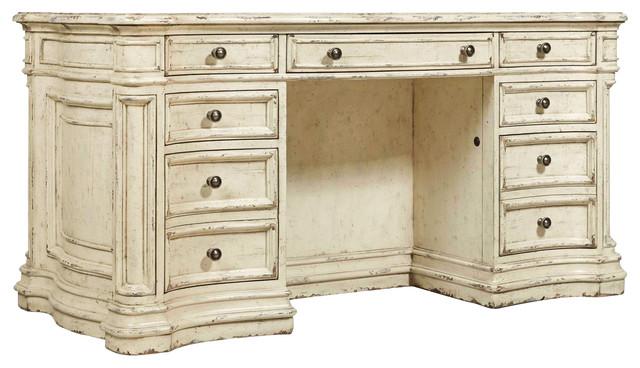 "Hooker Furniture Auberose Kneehole 60"" Desk."