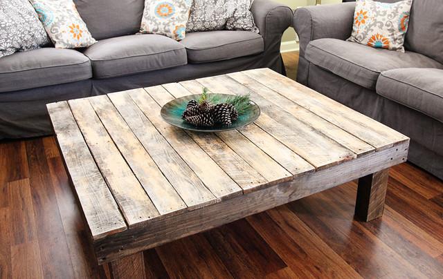 The Original Reclaimed Pallet Wood Coffee TableCraftsman