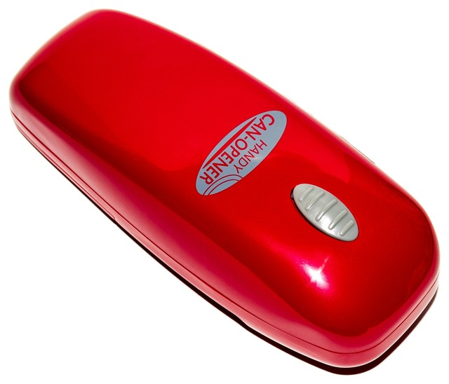 Portable Electric Can Openers : Portable handy can opener automatic one touch