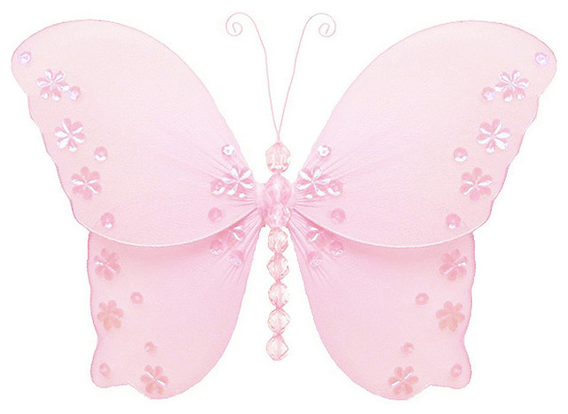 Butterfly Decorations Fake Hanging Butterflies Wall Ceiling Baby Shower