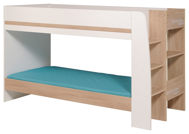 Family Bunk Twin Over Twin Bed.