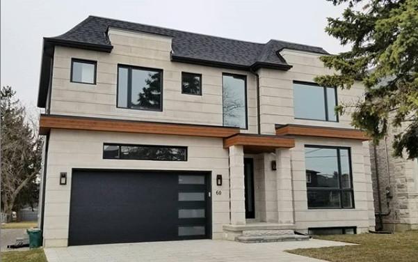 Custom Home - Exterior