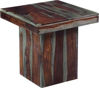 Grayson End Table, Sheesham Highlight Wash