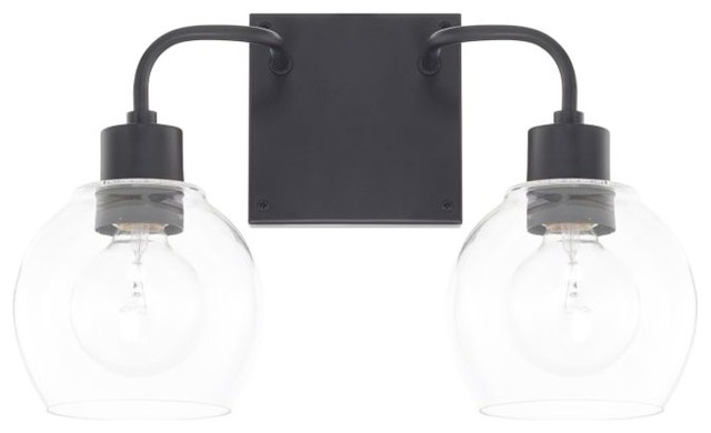 Capital Lighting 120021-426 Tanner 2-Light 15 Bathroom Vanity Light.
