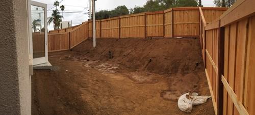 Retaining Wall Or Slope Edging