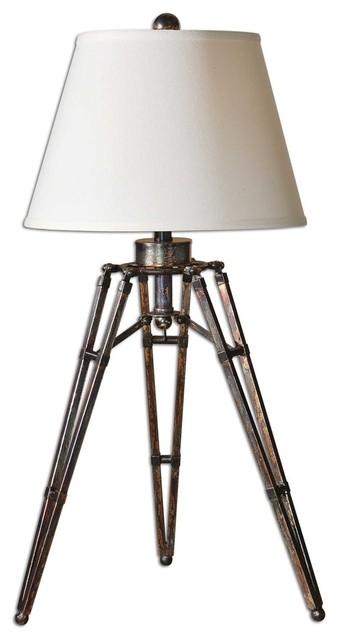 Tustin Tripod Lamp By Designer Carolyn Kinder.