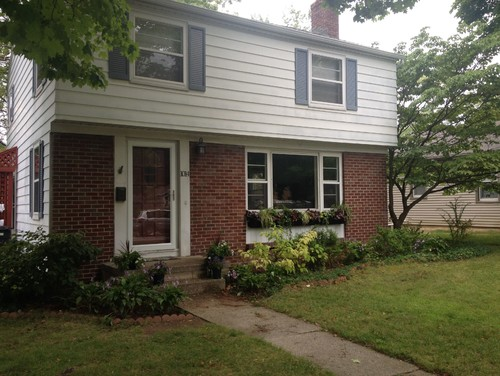 Need help updating exterior 1950s colonial for Updating an old house