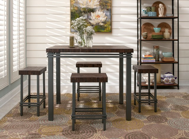 Jenson 5 Pc. Counter Height Dining Set
