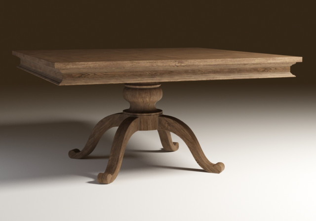 Geneva 59 Quot Square Oak Dining Table Chicago By Zin Home