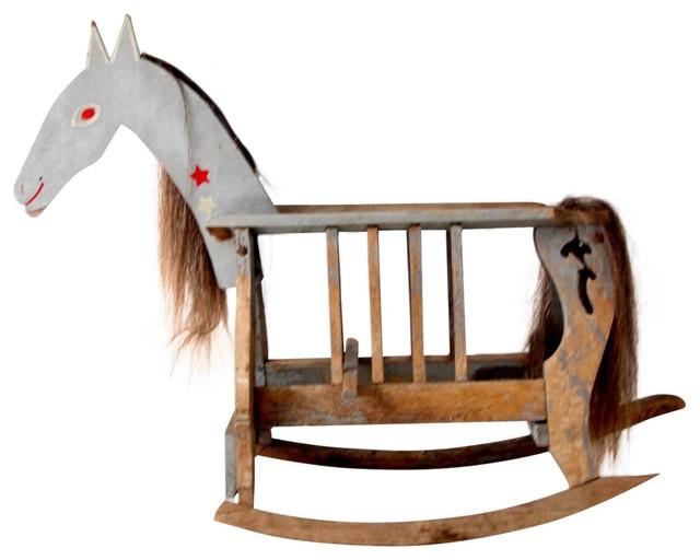 Consigned Antique Rocking Horse