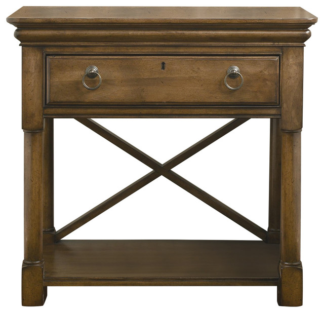 Universal Furniture New Lou Nightstand Traditional
