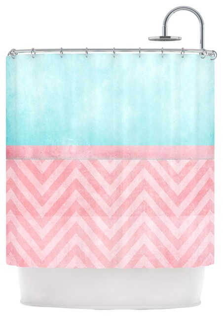 pale pink shower curtain. Ingrid Beddoes  Light Chevron Pink Turquoise Blush Aqua Shower Curtain contemporary shower