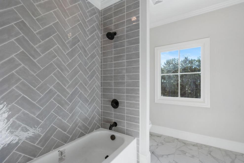 Bathroom - country bathroom idea in Atlanta