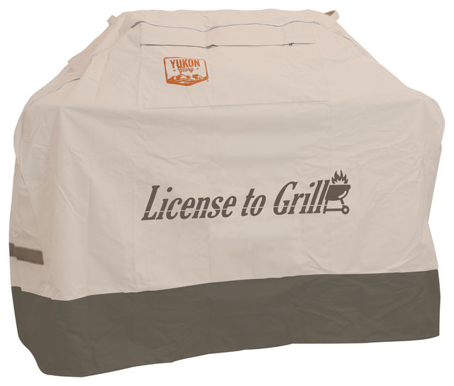 "Medium Universal Cover For Grill Up To 64"" License To Grill."