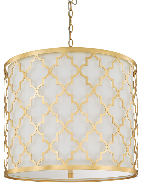 Capital Lighting Ellis Capital Gold Pendant.