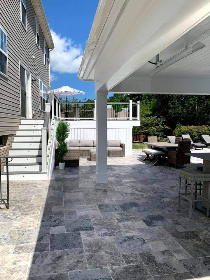 Patio with multiple Zones