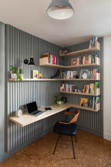Room Tour: A Stylish Home Office with Sustainability at its Heart