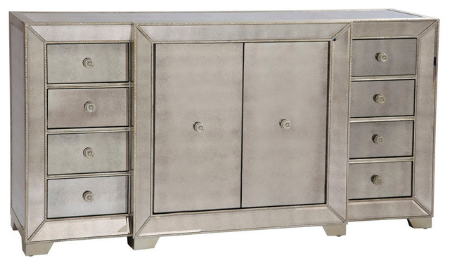 mirrored buffet sideboard bassett mirror co bassett mirror murano 72 inch buffet in 4157