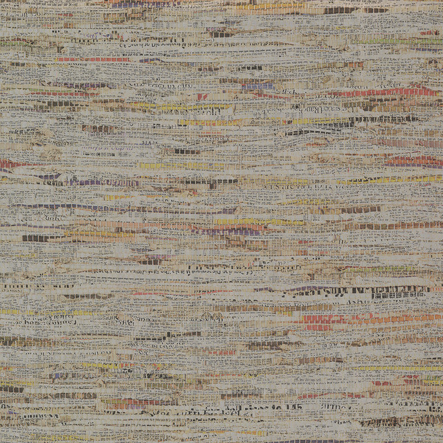 Clip Silver Newspaper Print Wallpaper, Bolt.