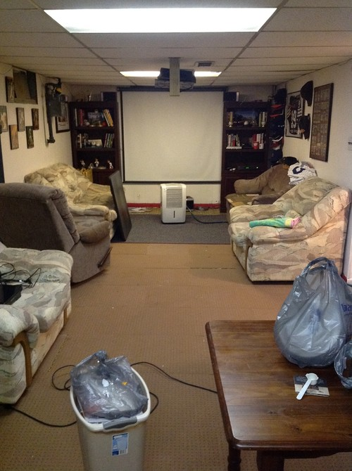 Man Cave Home Parties : Help with basement man cave please