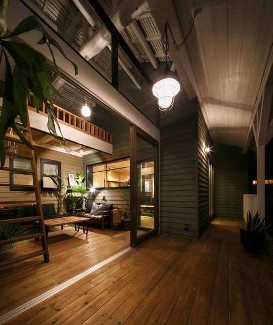 house-04  renovation アジアン-デッキ