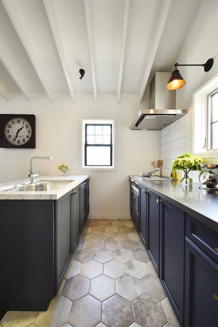 ニューヨークブルックリンスタイルの家 retro-cocina
