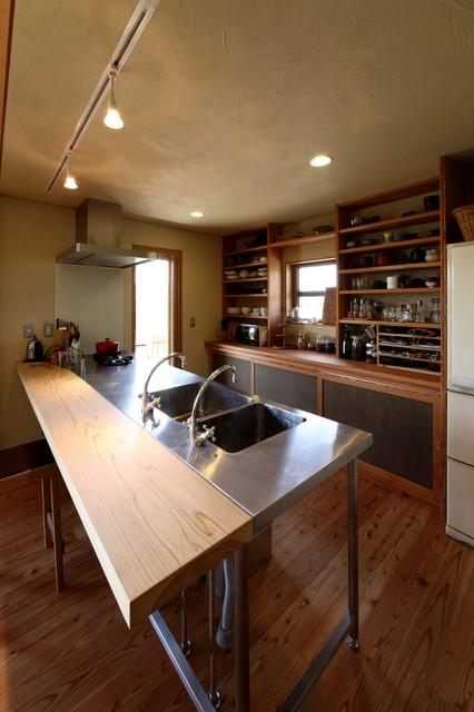御牧原の家 キッチン 和室和風-キッチン