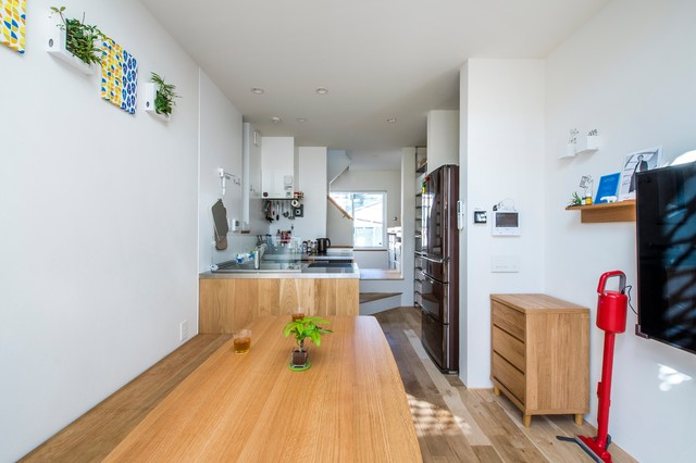 建物間口2.88m 延床面積17坪 狭小敷地に工夫を詰め込んだ家