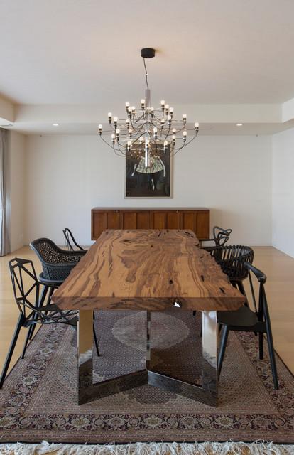 Interior design for Sala pranzo design
